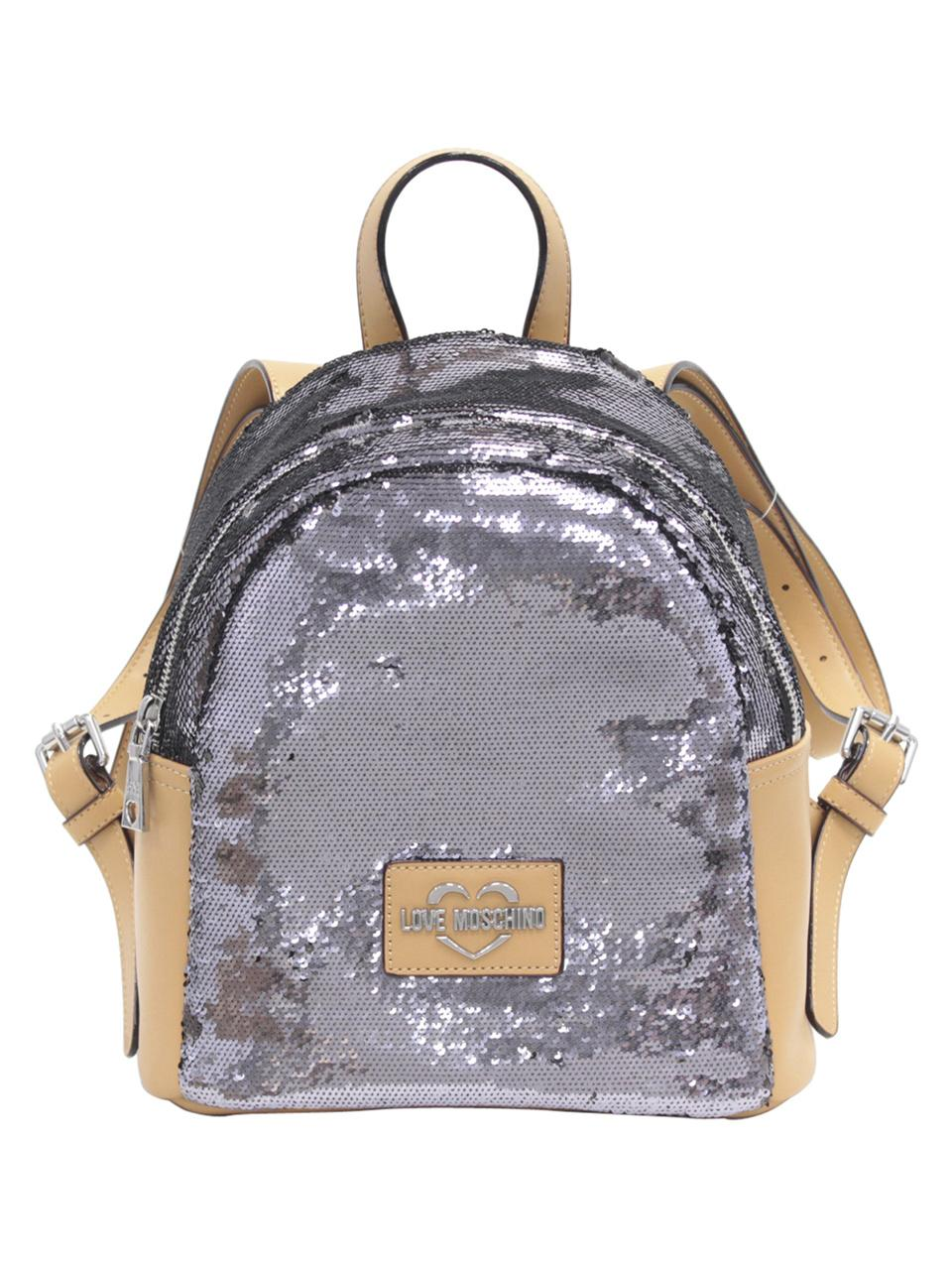 aae04d8ad9 Love-Moschino-Women-039-s-Sequin-Backpack-Bag thumbnail