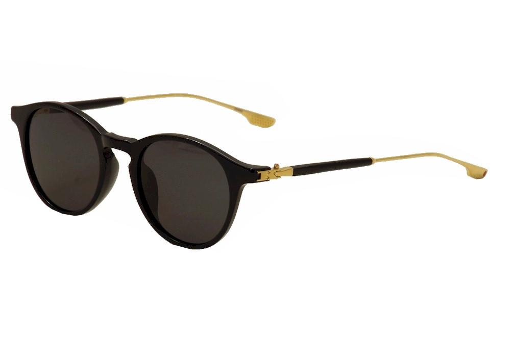 Image of Kiton Women's KT 007S 007/S Titanium Fashion Sunglasses - Black - Lens 46 Bridge 19 Temple 140mm