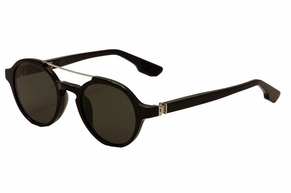 Image of Kiton Women's KT 504S 504/S Fashion Sunglasses  - Black - Lens 50 Bridge 22 Temple 145mm