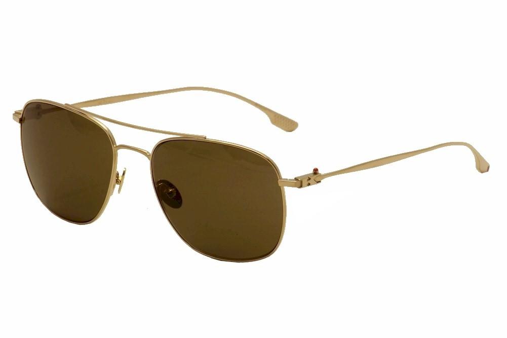 Image of Kiton Women's KT 508S 508S Titanium Pilot Fashion Sunglasses - Gold - Lens 57 Bridge 18 Temple 140mm