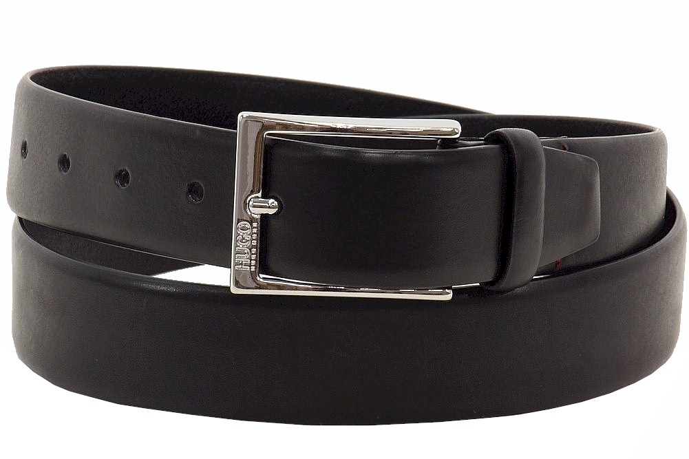Hugo Boss Men/'s C-Gerron-N Smooth Medium Brown Tanned Leather Belt