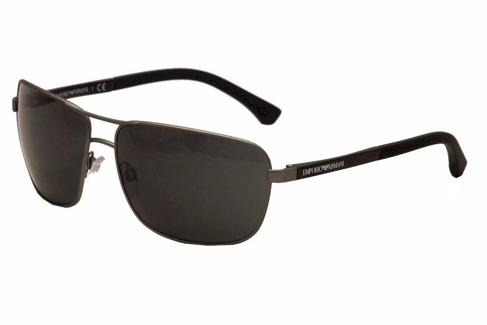 Image of Emporio Armani Men's EA 2033S 2033/S Sunglasses - Silver - Lens 64 Bridge 15 Temple 130mm