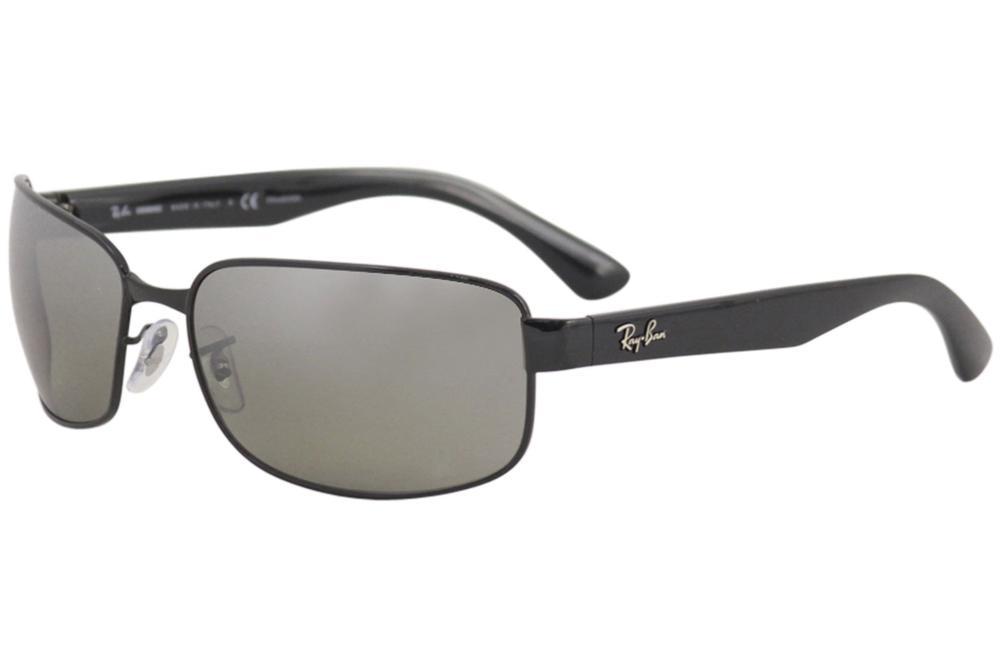 c91b551d025 Ray Ban Chromance RB3566CH RB 3566 CH Rectangle RayBan Polarized Sunglasses