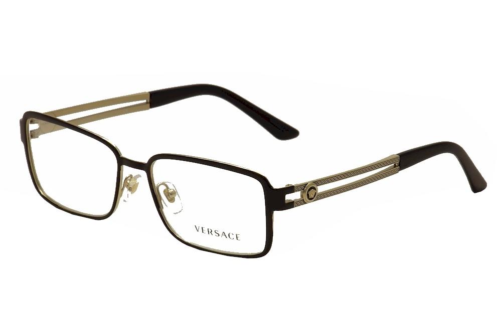 Versace Men\'s Eyeglasses VE1236 VE/1236 Full Rim Optical Frame