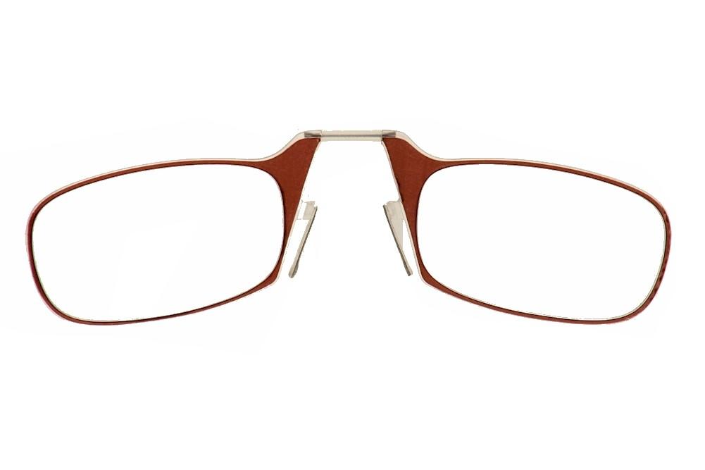 Image of ThinOPTICS Reading Glasses W/Universal Pod - Brown - Strength: +1.50