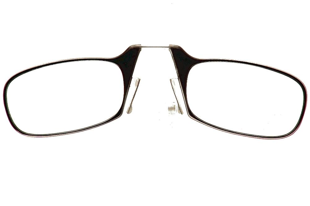 Image of ThinOPTICS Reading Glasses W/Universal Pod - Black - Strength: +1.50