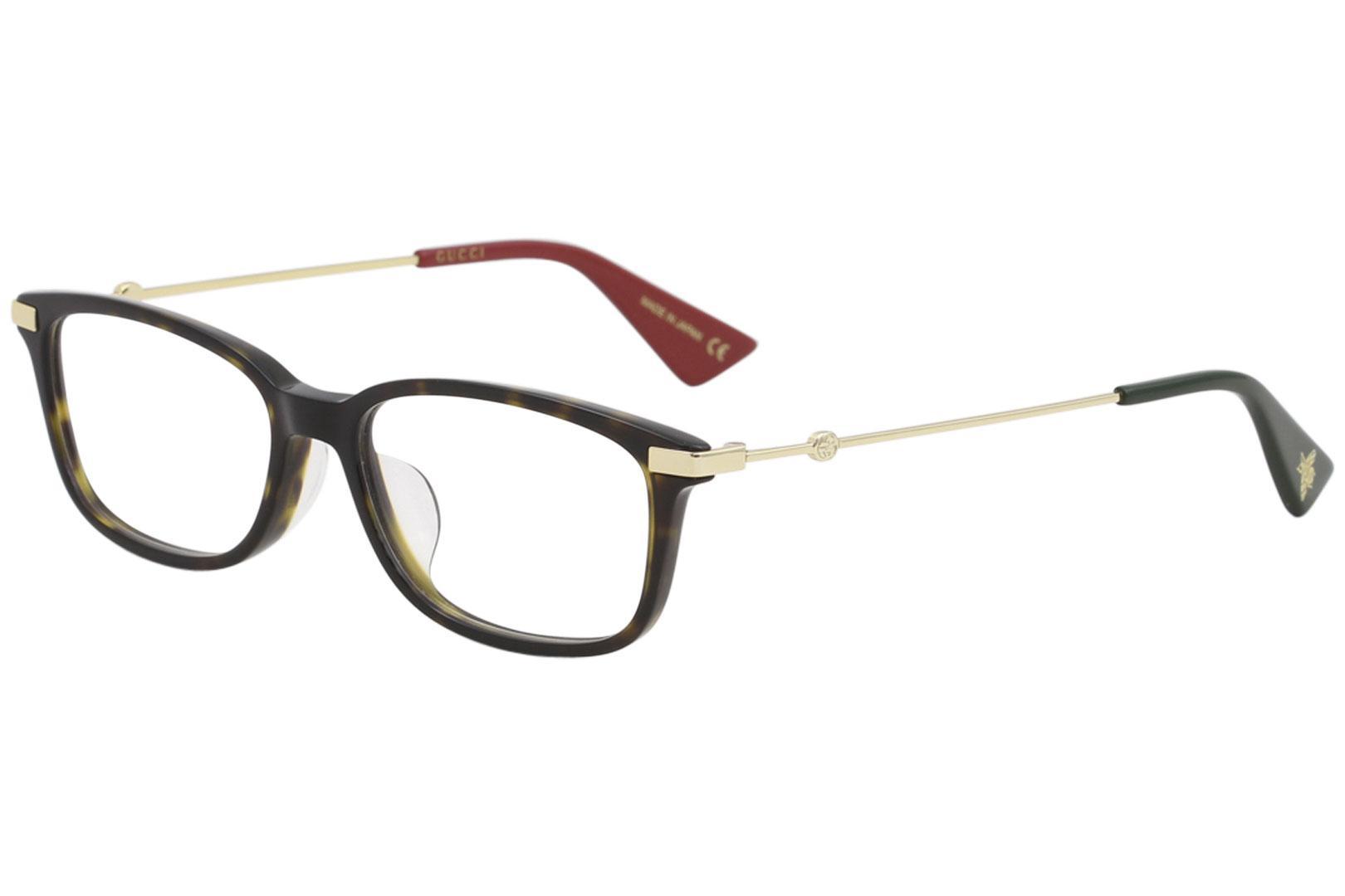 fe5df32e8a42 Gucci Women s Eyeglasses GG0112OA GG 0112 OA Urban Full Rim Optical Frame