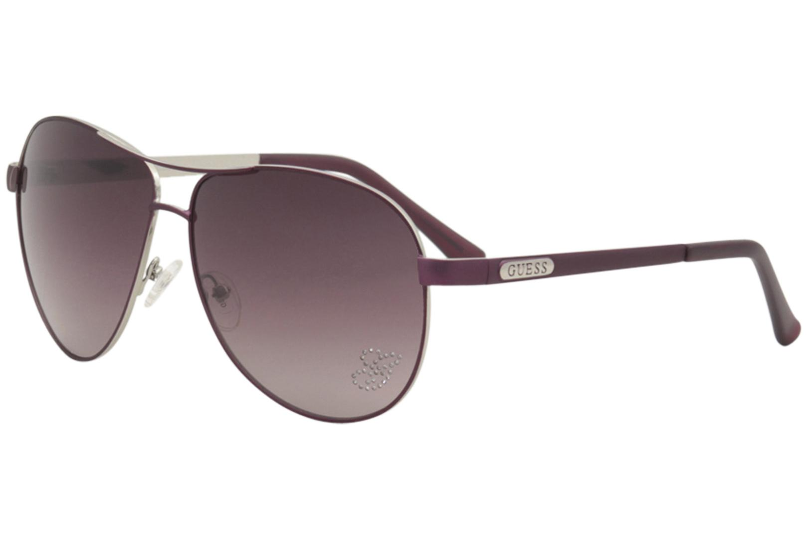 887992f287b Guess Women s GU7365 GU 7365 Fashion Pilot Sunglasses