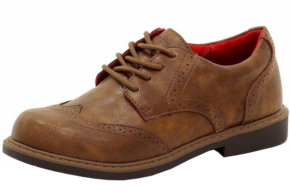 Image of Ben Sherman Boy's Bernie Fashion Oxfords Shoes - Brown - 1.5 M US Little Kid