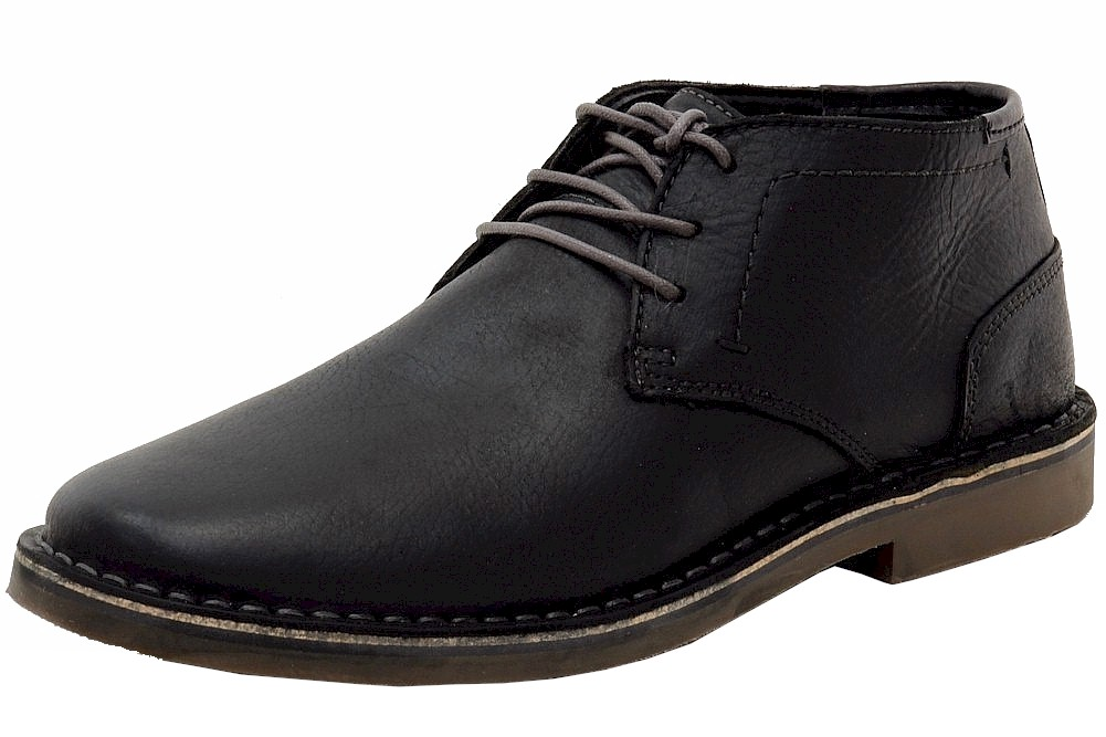 Image of Kenneth Cole Men's Desert Sun Chukka Boots Shoes - Black - 9.5 D(M) US