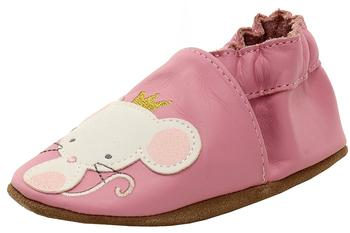 Robeez Mini Shoez Infant Girl's Princess Fashion Leather Slip-On Shoes UPC: