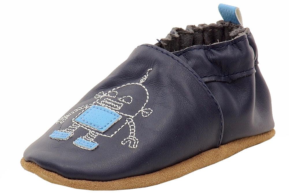 Image of Robeez Mini Shoez Infant Boy s Robotics Fashion Slip On Shoes