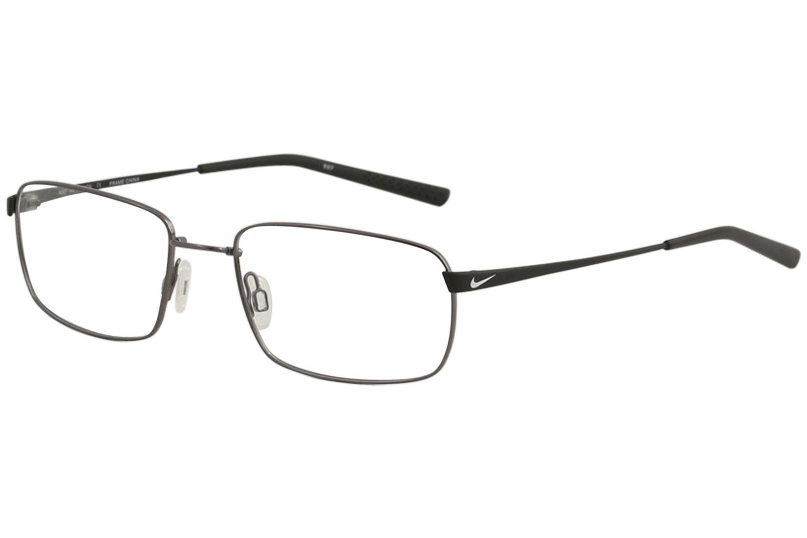 b43e1cead1 Nike Men s Eyeglasses 4194 Full Rim Flexon Optical Frame