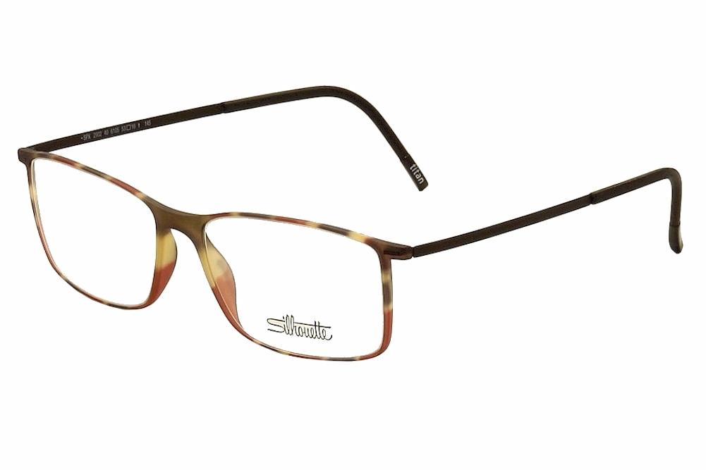 Silhouette Men\'s Eyeglasses Urban Lite 2902 Full Rim Optical Frame
