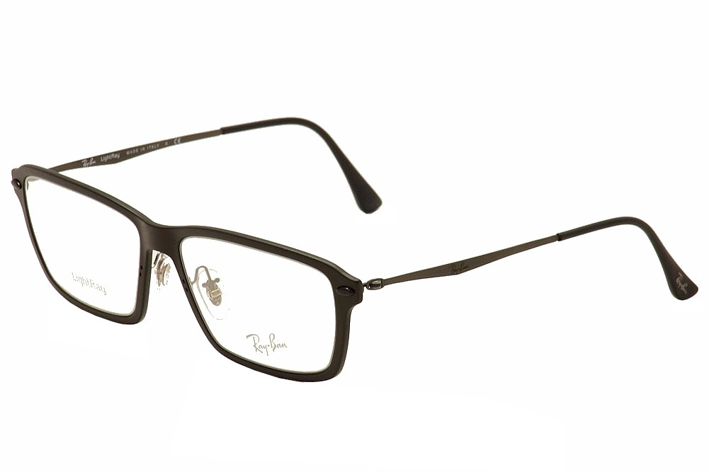 3ff18bd098 Ray-Ban Men s LightRay Eyeglasses RX7038 RX 7038 RayBan Full Rim Optical  Frame