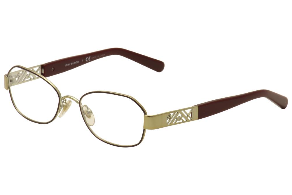 Image of Tory Burch Women's Eyeglasses TY1043 TY/1043 Full Rim Optical Frame - Gold - Lens 50 Bridge 15 Temple 135mm