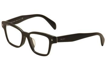 Prada Women's Eyeglasses VPR 10SF 10S-F Full Rim Optical Frame (Asian Fit)