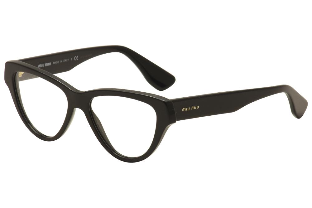 Miu Miu Women\'s Eyeglasses VMU 10N 10/N Full Rim Optical Frame