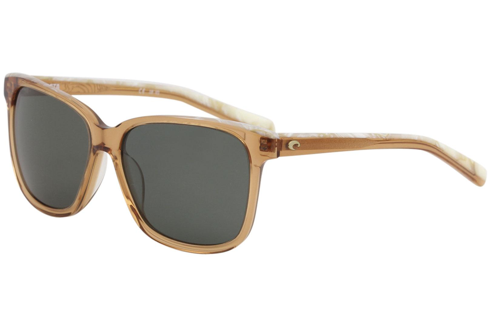 7c018a926f249 ... May Fashion Square Polarized Sunglasses by Costa Del Mar. Touch to zoom