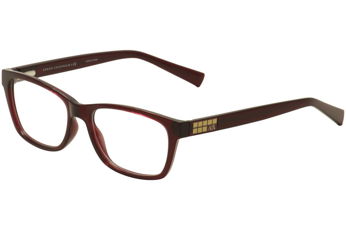 Armani Exchange Women S Eyeglasses Ax3006 Ax 3006 Full Rim Optical Frame