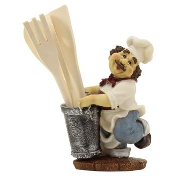 Bistro Chef Utensil Holder With Kitchen Tools