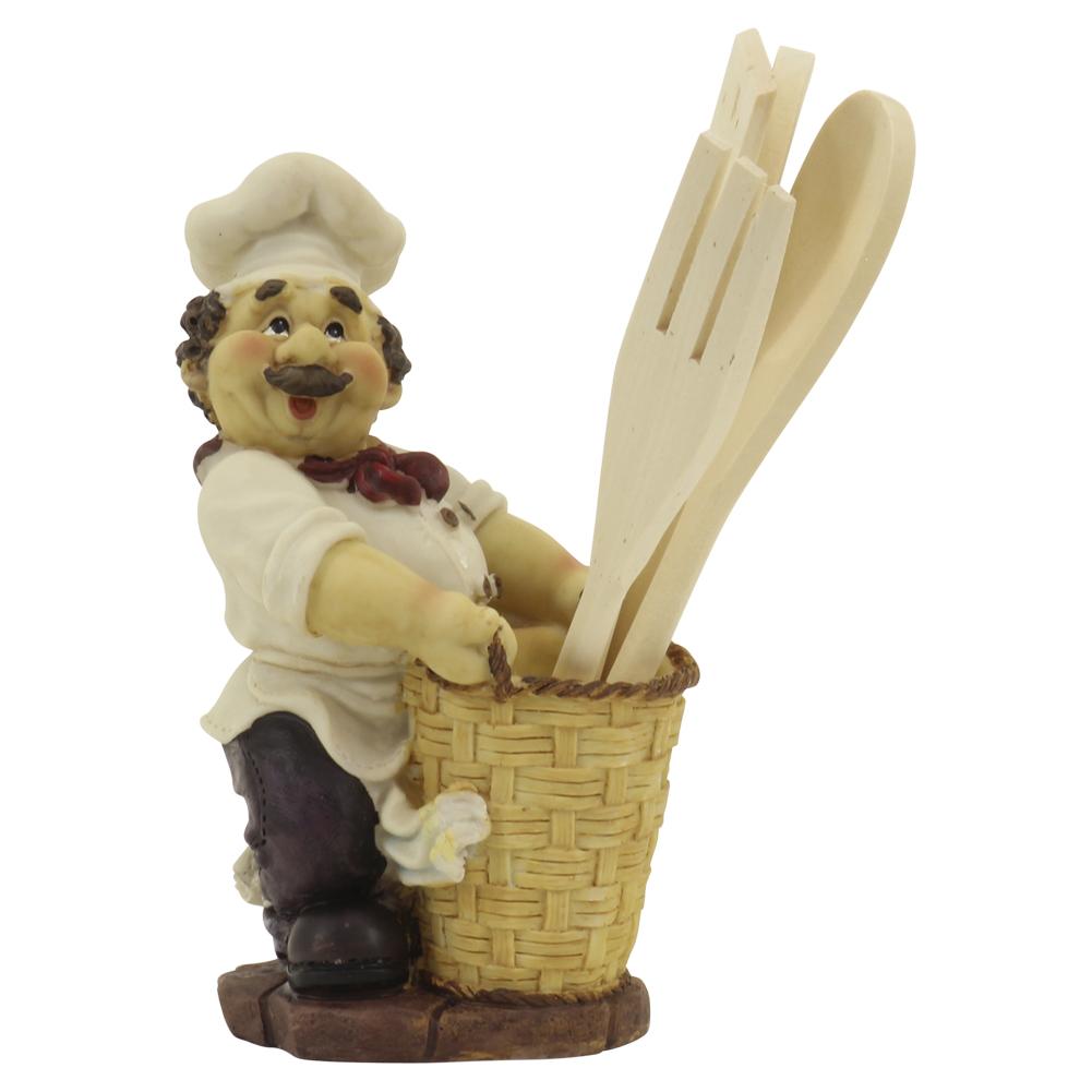 Bistro Chef Utensil Holder With Kitchen Tools