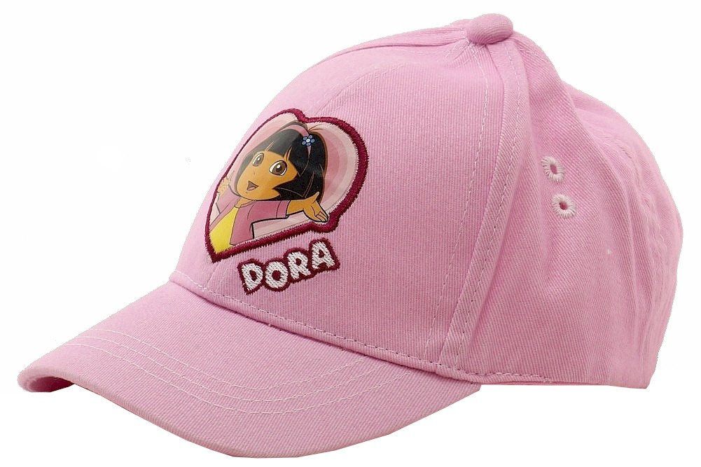 Image of Nick Jr. Dora The Explorer Infant Girl's Baseball Cap 0 18 Months - Pink - 0 18 Months
