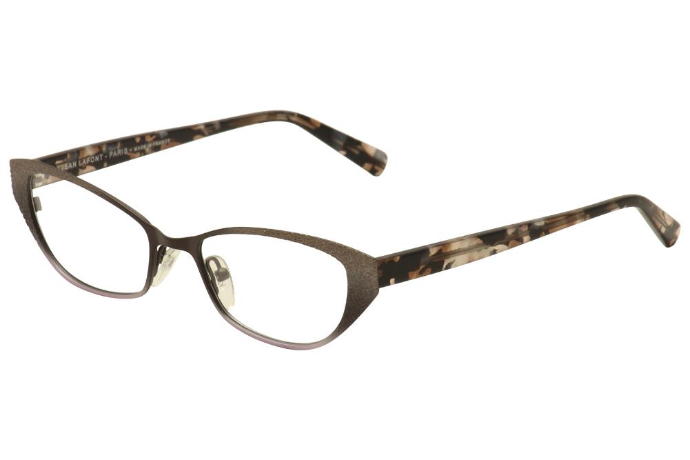 Image of Lafont Paris Women's Eyeglasses Renata Full Rim Optical Frame - Purple - Lens 51 Bridge 18 Temple 138mm