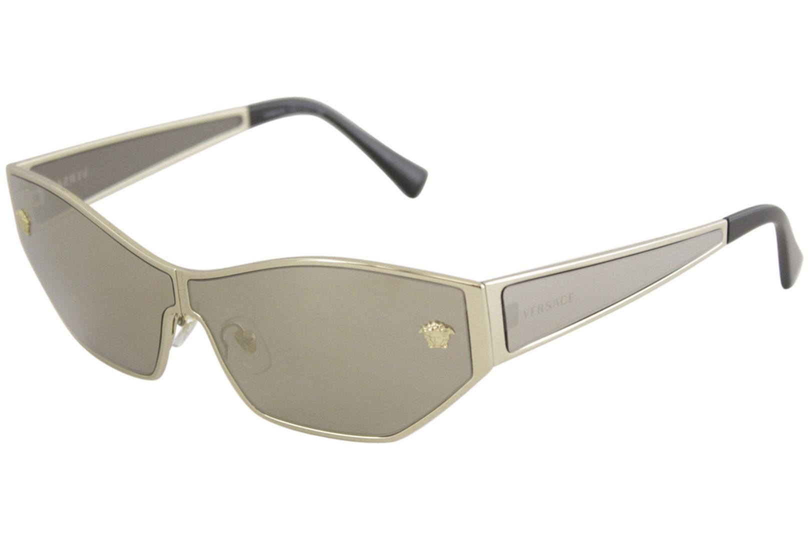 67c1ed49d43 Versace Women s VE2205 VE 2205 Fashion Cat Eye Sunglasses