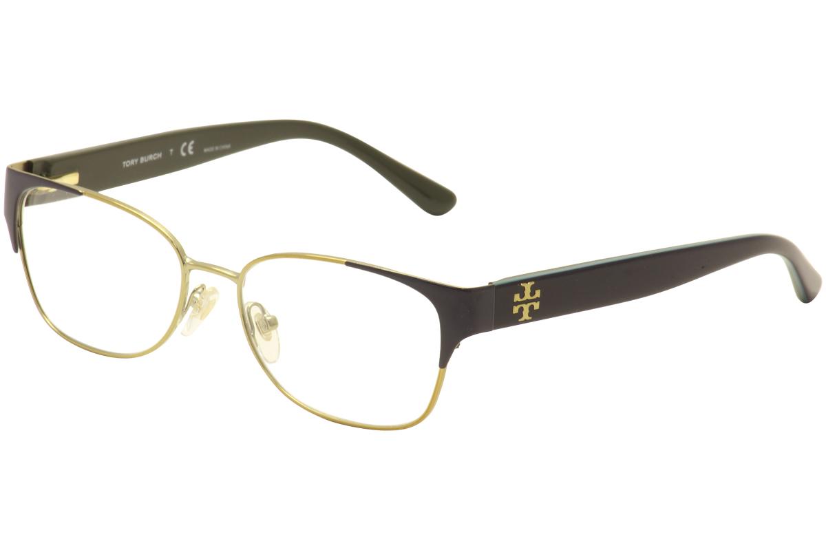 Image of Tory Burch Women's Eyeglasses TY1051 TY/1051 Full Rim Optical Frame - Gold - Lens 52 Bridge 16 Temple 135mm