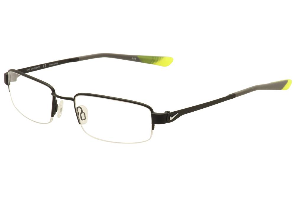 808771e6e3a5 ... Nike Flexon Frames: Nike Flexon Men's Eyeglasses 4271 Half Rim Optical  Frame