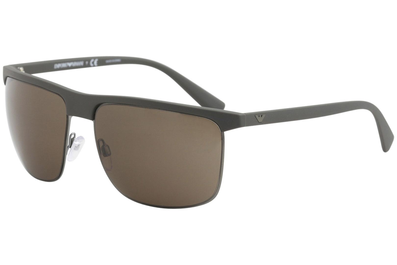 1066e48340b9 Emporio Armani Men s EA4108 EA 4108 Fashion Square Sunglasses