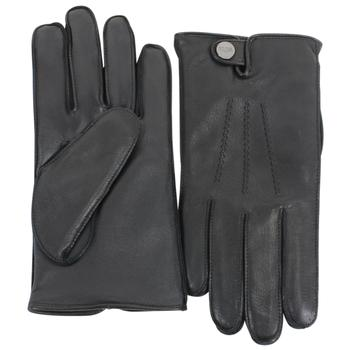 Ugg Men's Leather Smart Snap Winter Gloves  UPC: