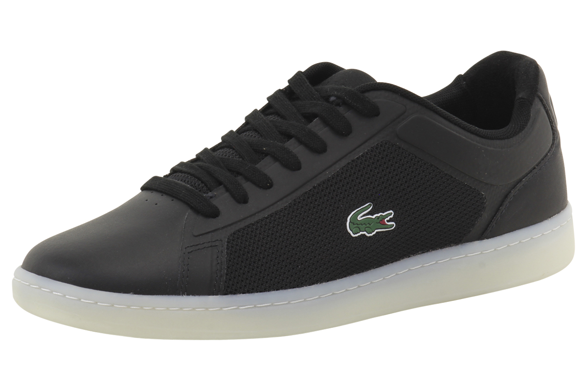 free delivery great quality many fashionable Lacoste Men's Endliner 416 1 Canvas/Suede Sneakers Shoes