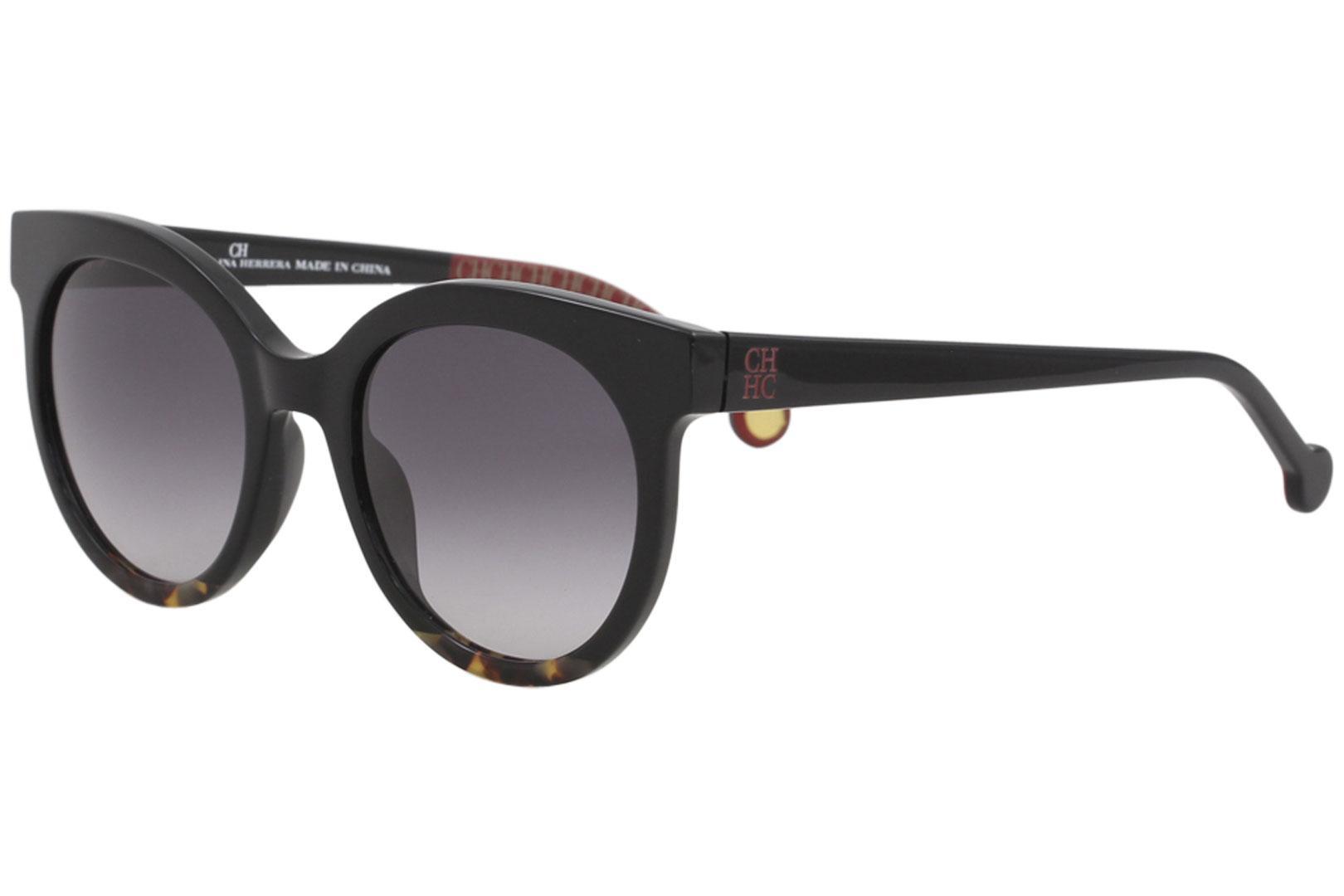 0dc45567d1 CH Carolina Herrera Women s SHE745 SHE 745 Fashion Round Sunglasses