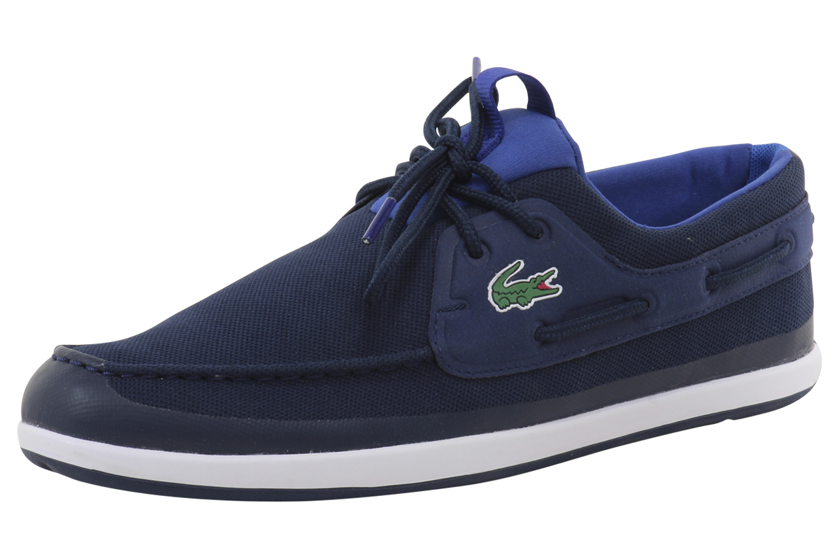 outlet store a80ae 66692 Lacoste Men s L.Andsailing 316 3 Fashion Boat Shoes