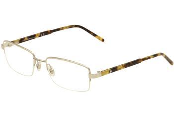 6b2438da73b Mont Blanc Men's Eyeglasses MB0581 MB/0581 Semirim Optical Frame