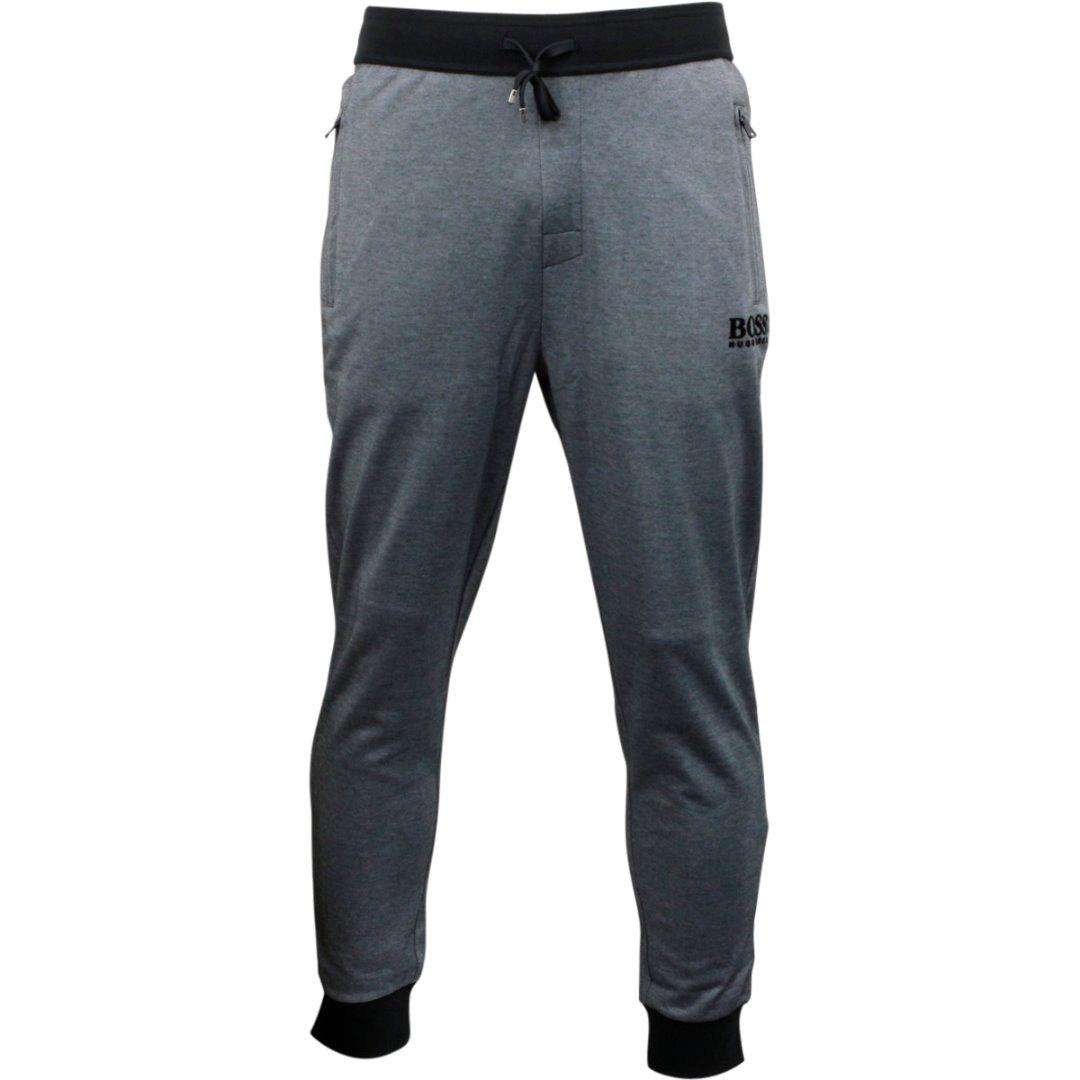 85245f290 Hugo Boss Men's Long Contrast Cuffs Drawstring Lounge Sweatpants