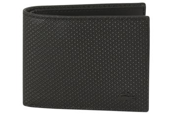 Lacoste Men's Genuine Pique Leather Wallet