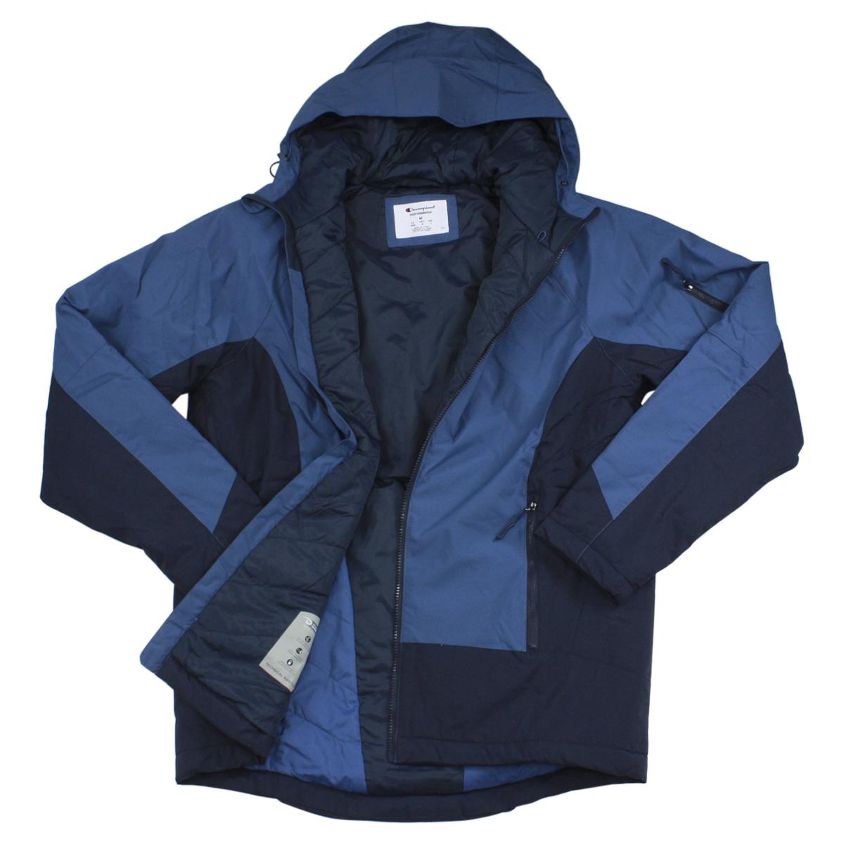 Champion Men s Technical Ripstop Ski Puffer Hooded Jacket