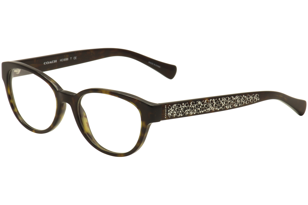 Coach Women S Eyeglasses Hc6069 Hc 6069 Full Rim Cat Eye Optical Frame