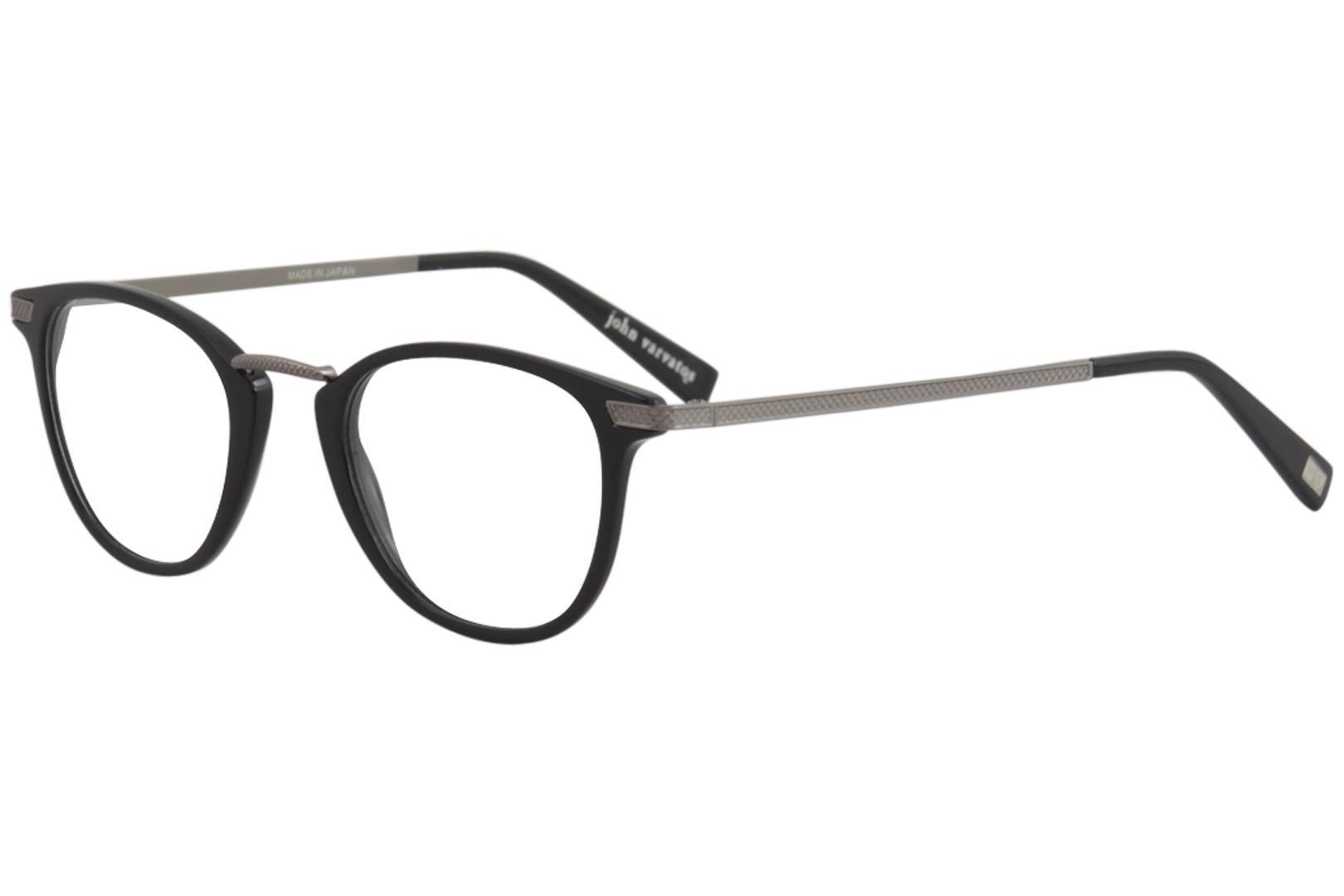 John Varvatos Men\'s Eyeglasses V372 V/372 Full Rim Optical Frame