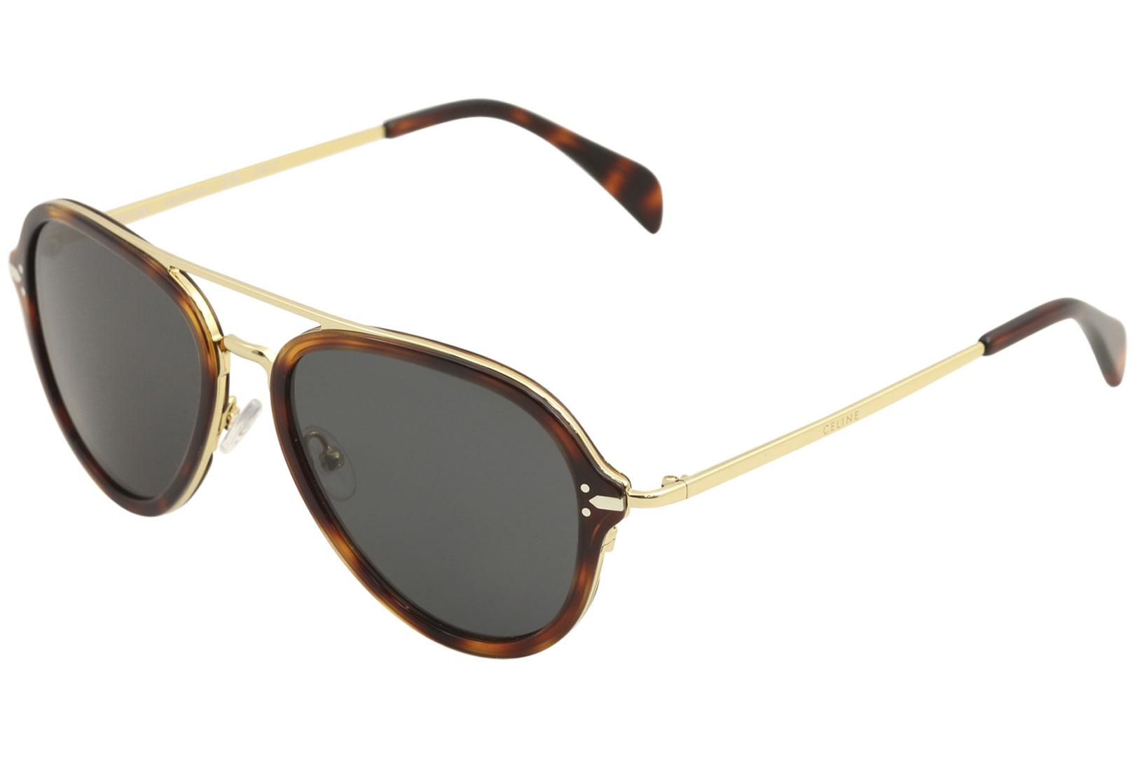 e9468df4875f Celine CL 41374S 41374 S Retro Pilot Sunglasses
