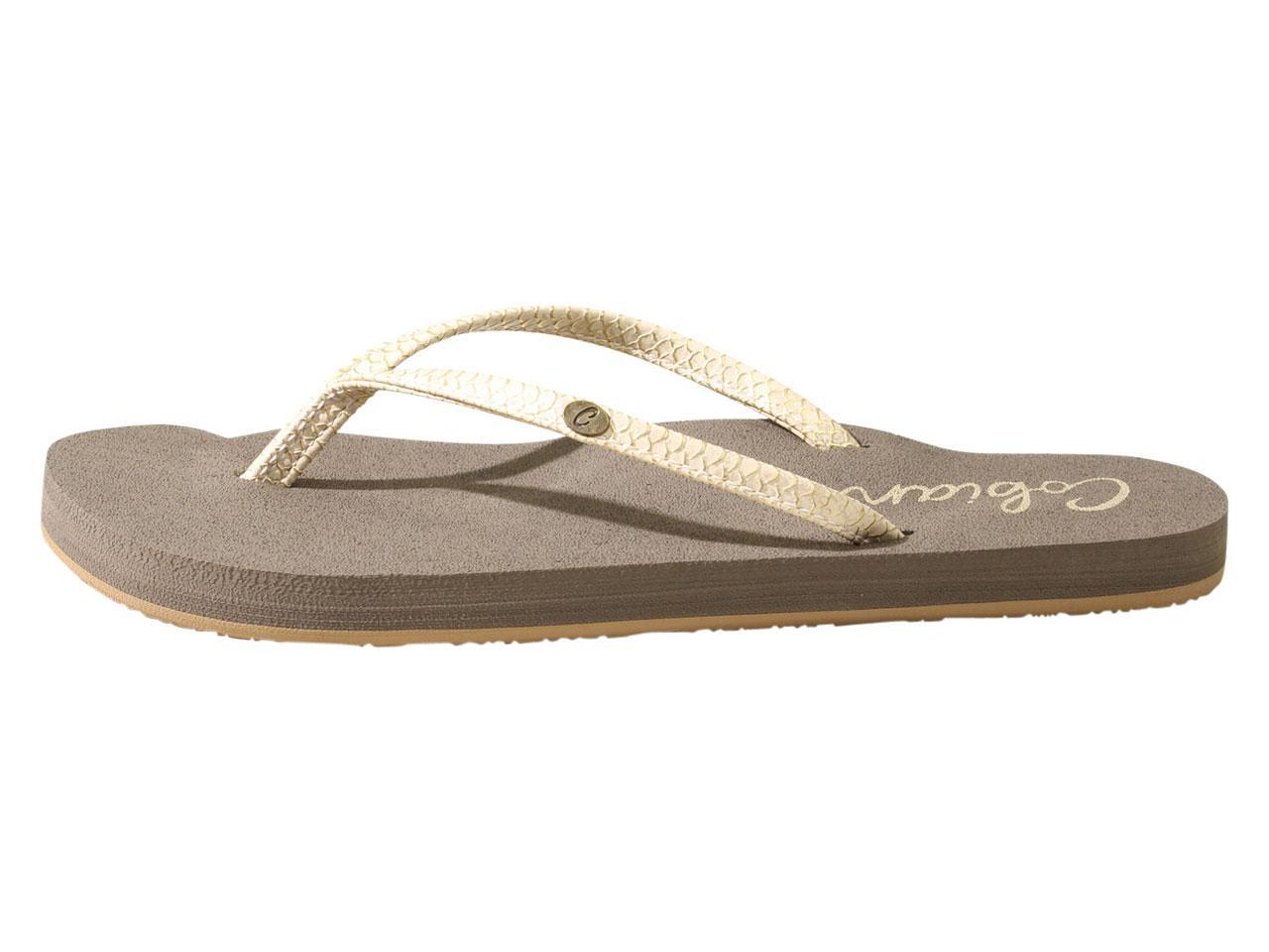 ddd7fd3cfa4ac Cobian Women s Nias Bounce Flip Flops Sandals Shoes