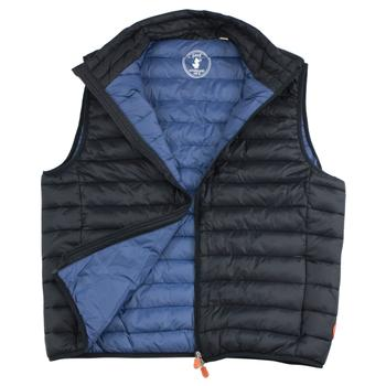 Save The Duck Men's Lightweight Puffer Winter Vest  UPC: