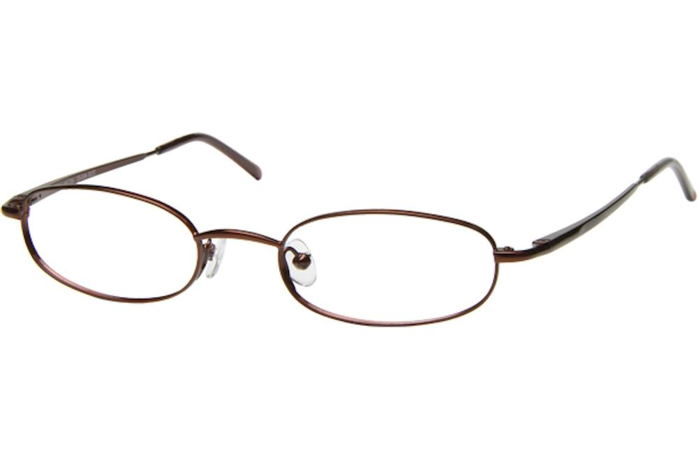 Image of Tuscany Men's Eyeglasses 465 Full Rim Optical Frame - Brown   02 - Lens 45 Bridge 20 Temple 145mm
