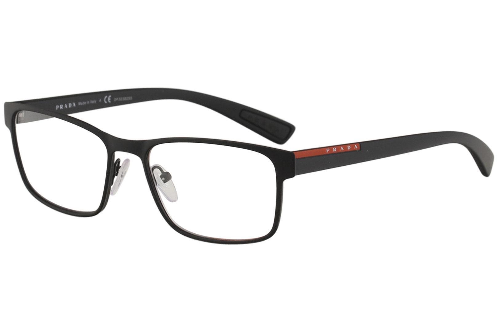 6bd6c103bf ... usa prada linea rossa mens eyeglasses vps50g vps 50g full rim optical  frame 0e8de f7e53 new ...