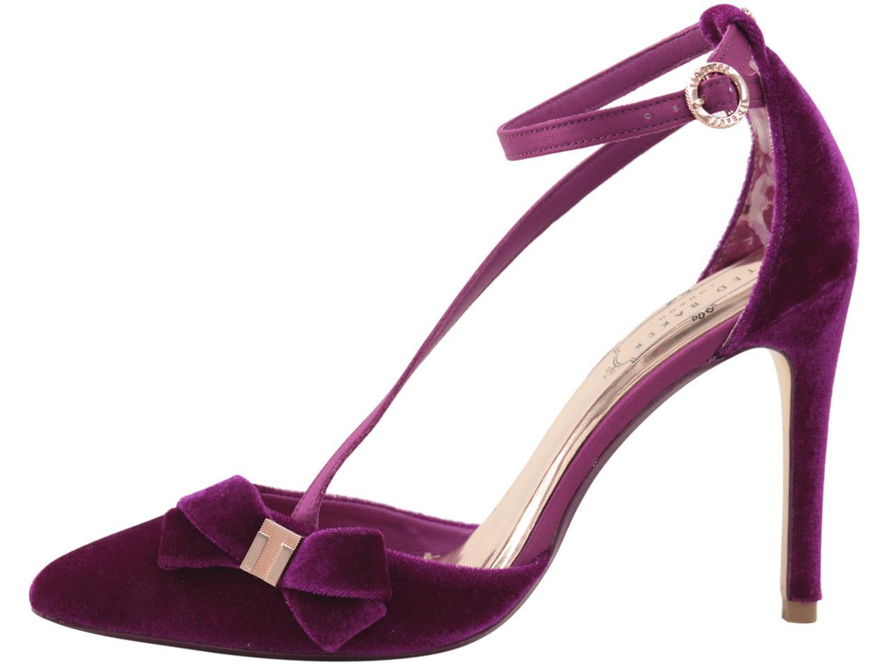 b2e5d91d9845eb Ted Baker Women s Juleta Velvet Pumps Heels Shoes by Ted Baker. 1234567