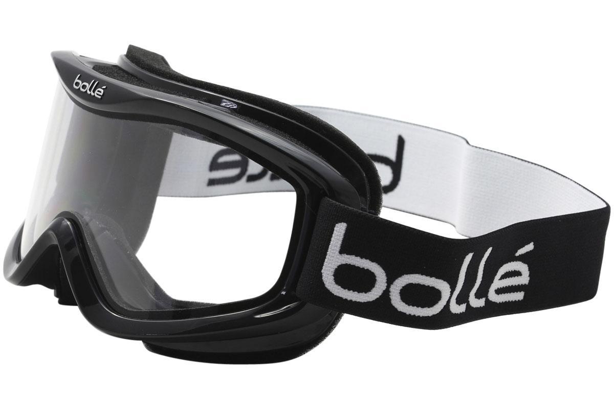 Image of Bolle Mojo Snow Goggles - Shiny Black/Clear 20570 - Medium