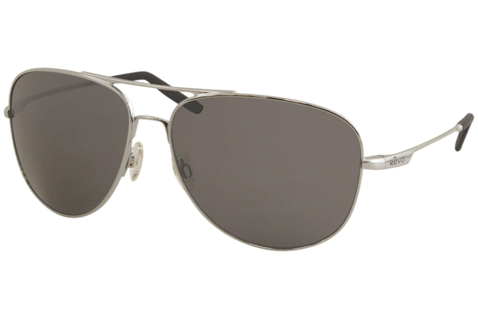 Image of - Chrome/Polarized Grey Graphite   03 - Lens 63 Bridge 14 Temple 135mm